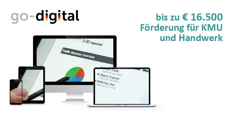 Go-Digital-Beitrag Förderprogramm Hannover